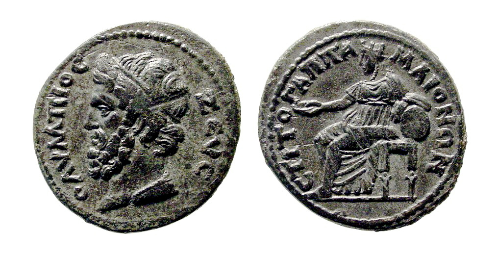 Lydia coin Zeus Olympios