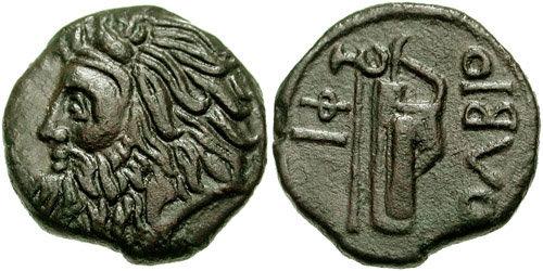AE 20 de Olbia, Sarmacia 97-151174