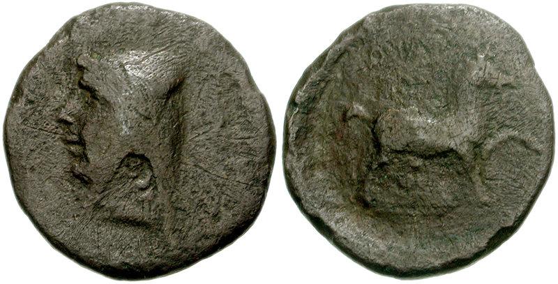 AE 16 de Mithradates I, Rey de Partia 97-1550099